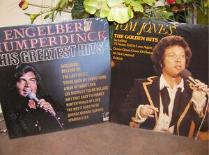 Vinyle 33 tours Tom Jones et Engelbert Humperdinck Vintage 60's