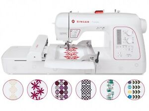 Singer XL-580 Futura Embroidery And Sewing Machine like new