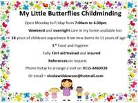 Ofsted Registered Childminder West bridgford