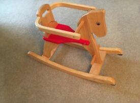 Baby toddler ride on rocking horse