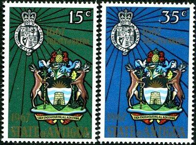 Antigua 1967 Treaty of Breda & New Arms     SG.206/207  Mint (MNH)     #016170#