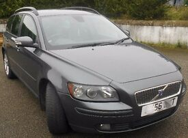Volvo V50 2.0 D SE ESTATE. LEATHER & WALNUT, MAY P/X NAVARA/FORD RANGER/L200 ETC
