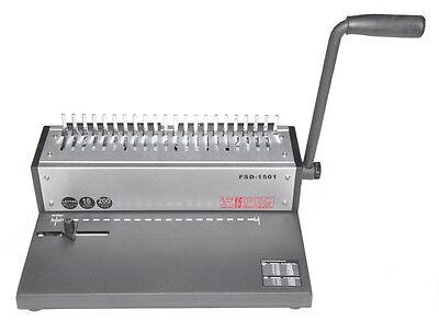 New Metal Based Cerlox Comb Binding Machinecomb Cerlox Binder15250free Combs