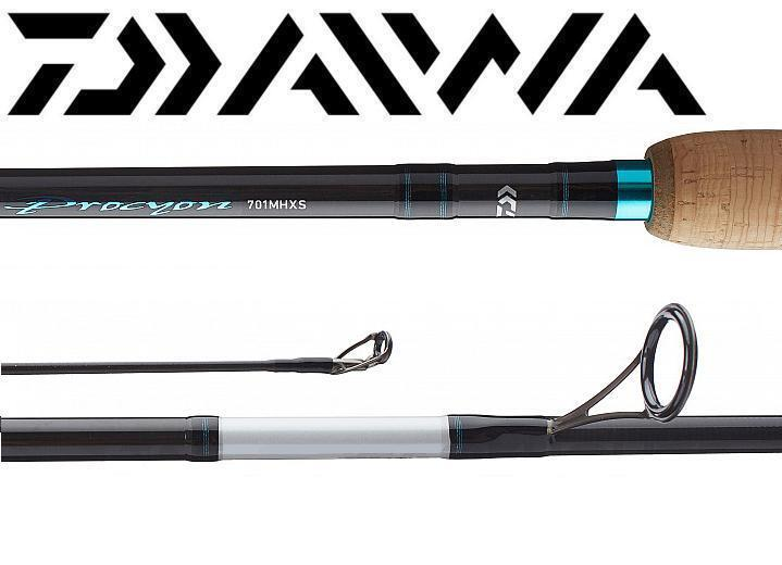 "Daiwa Procyon 6'6"" Medium X-Fast Spinning Rod PCY661MXS"