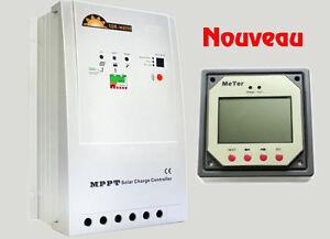 Nouveau contrôleur régulateur solaire MPPT Tracker 20/40 Panneau