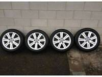 "Set of 4 audi 17"" wheels 5x112"