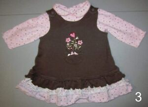Baby Girl Dresses - size 6M