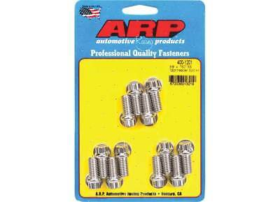ARP 400-1201 Stainless Steel Header Bolts 12-Point 3/8-16 Small Block Chevy SBC