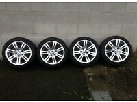 Bmw M Sport alloy wheels and tyres