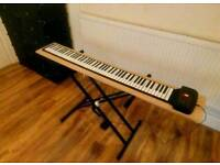 Silicon flexible roll up piano 88 keys