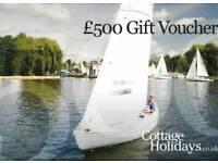 £500 voucher for £250