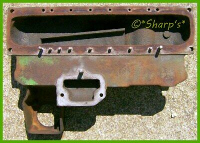 F1520r John Deere 70 720 Upper Radiator Tank Original No Broken Bolts Usa