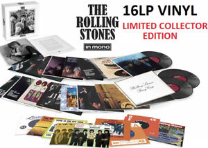 NEW THE ROLLING STONES IN MONO 16 LP VINYL COLLECTION