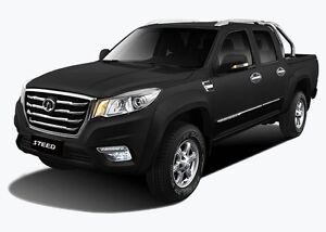 2016 Great Wall Steed Dual Cab Ute 4x2 West Tamworth Tamworth City Preview