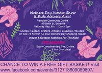 Mother's Day Vendor Sale & Kids Activity Area!