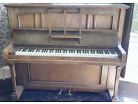 Upright piano, good condition