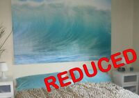 "➨ ➨ ➨ REDUCED!!!  Beautiful Picture ""Waves of Hawaii"""
