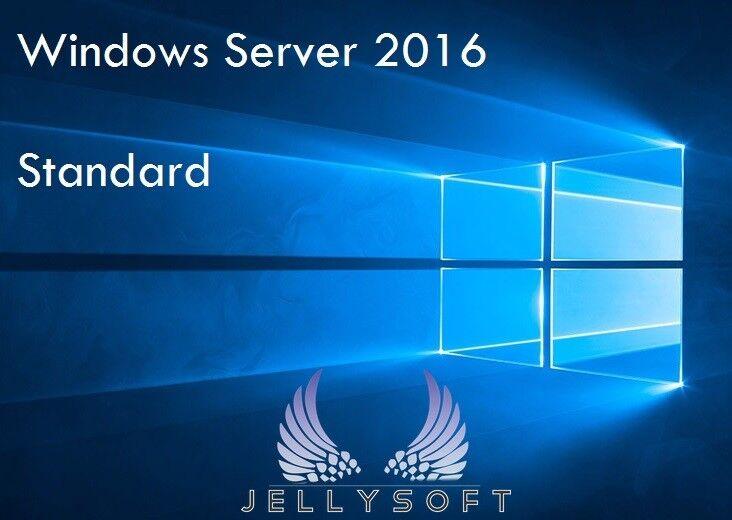 Microsoft Windows Server 2016 Standard ✔ Auch für die Evaluierungssoftware ✔