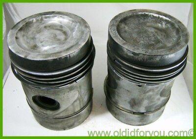 Af3764r John Deere 70 Diesel Pistons W Keystone Rings Pins Snap Rings