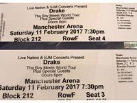 Drake The Boy Meets World Tour Event x2 Tickets