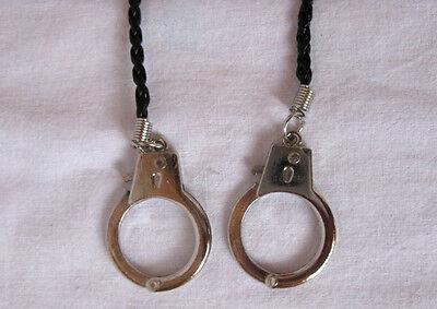 Halskette Lederband Mini - Handschellen Daumenschellen