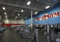 Training Sessions World Gym (Waterloo)