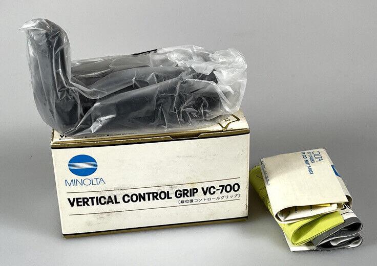 Minolta Battery Grip VC-700 for Dynax Maxxum 807si 800si Brand New Old Stock