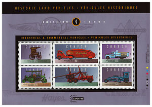 CANADA STAMP COLLECTION: TRANSPORTATION STAMPS AIR, TRAIN & AUTO