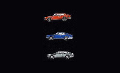 LOT 2 x FIAT DINO CAR Lapel Jacket PIN Emblem Badge Lim. EDITION Bertone Vintage