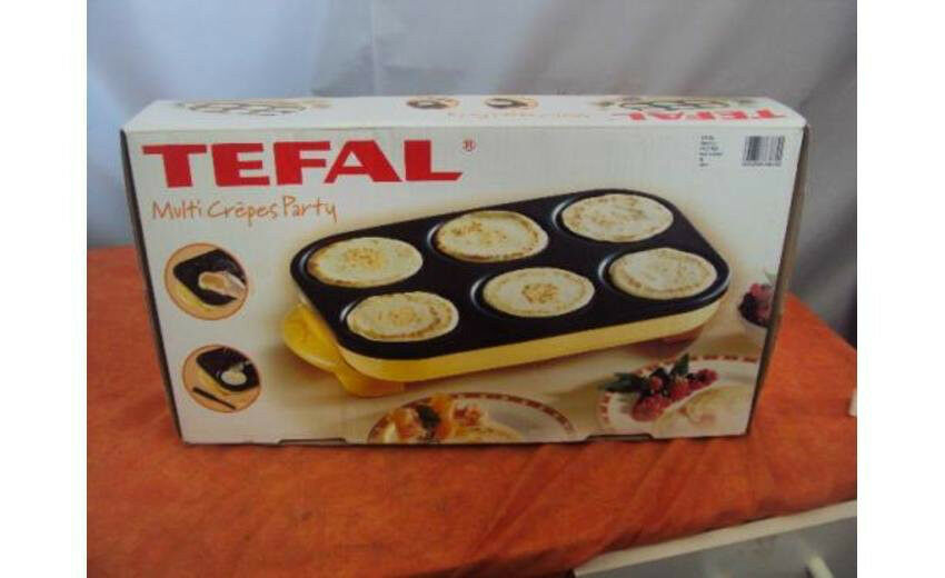Tefal multi crepe party grill 220v in huntingdon - Machine a crepe tefal ...