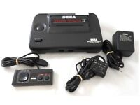 Sega Master System with Alex Kid 2 Original Game Pads in New Condition