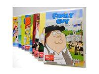 Family Guy Series 1 - 9 (25 dvds)