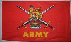 BRITISH-ARMY-5X3-FEET-FLAG-Polyester-fabric-ARMED-FORCES-MILITARY-BRITAIN-UK