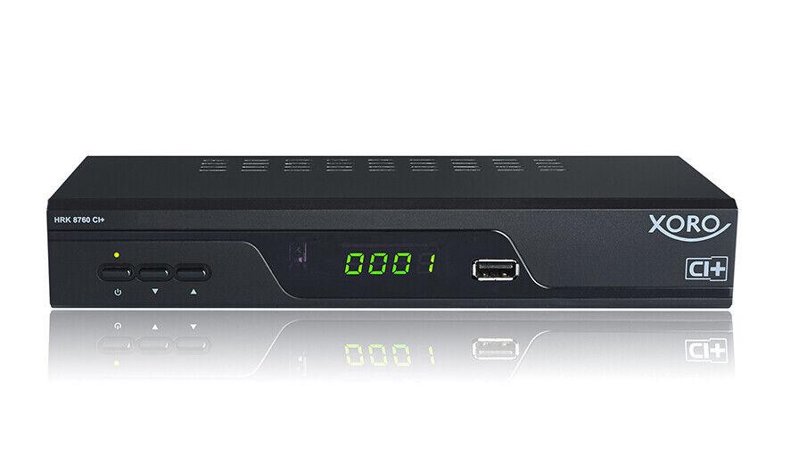 HD Kabel-Receiver XORO HRK 8760 CI+ (2xUSB, PVR Ready, CI+, Mediaplayer)