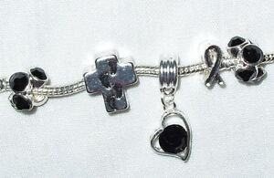European-Charms-Cross-Footprints-in-the-Sand-Cancer-Awareness-Heart-Dangle