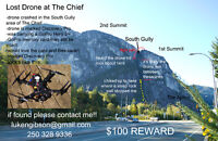 LOST DRONE ON THE CHIEF IN SQUAMISH (REWARD!)