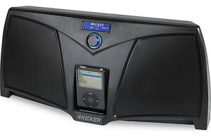 Kicker iK501 Digital Stereo System for iPhone and iPod (Black)