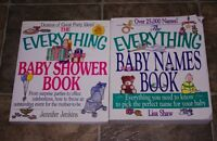 Everything Baby shower and Baby name book