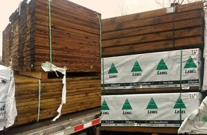 New  Surplus Pressure Treated Lumber