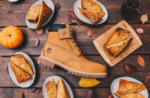 """Timberland Brogue 'Cornbread"""" 6-inch Boots. Limited Edition! DS!"""
