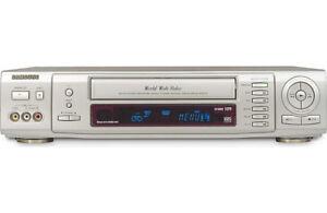 Samsung SV-5000W MultiSystem VHS & Panasonic DMR-E85H DVD HDD