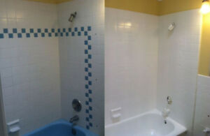 Professional Bathtub, Tile, Shower Reglazing, Grout Cleaning