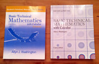 Basic Tech Mathematics With Calculus (9th Edition) + Solutions