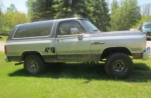 1988 Dodge Ramcharger for sale