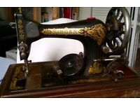Old Singer sewing machine in SM1
