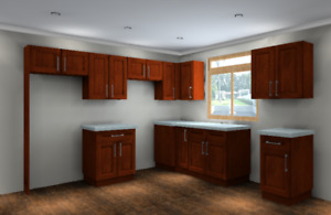 AFFORDABLE SOLID WOOD KITCHEN CABINETS. $2299 FOR A NEW KITCHEN