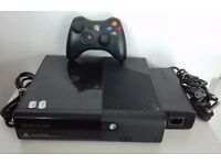 XBOX 360 SUPER SLIM (LATEST MODEL) WITH THREE GAMES