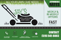 NEED LANDSCAPING? A YARD CLEANUP? WEEDS REMOVED? GARDEN WORK?