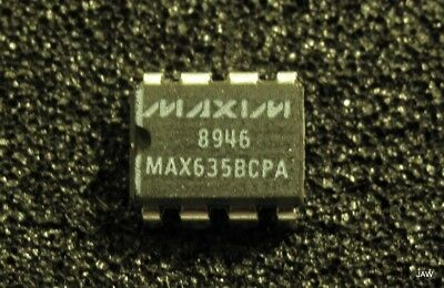 5 Units Max635bcpa -5volt Dc Switching Regulator 3 To 15 Volt Input 50ma Out.