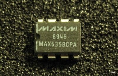 Max635bcpa -5volt Dc Switching Regulator 3 To 15 Volt Input 50ma Output I